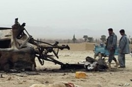 Afghan Probe Links NATO Strikes to 65 Civilian Deaths