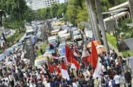 Anti-Corruption Campaign Takes to the Streets in Jakarta