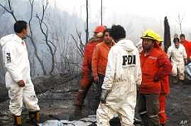 6 Firefighters Killed in Chile Forest Fires