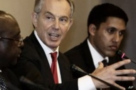 Former British PM Blair Says New Players Changing Face of Aid in Africa