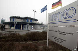 View to the entrance of the Uranium enrichment plant of German company Urenco in Gronau, Germany, Jan. 22, 2010.