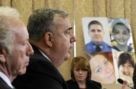 Boston Police Commissioner Edward Davis testifies before the House Homeland Security Committee at a hearing on Boston Bombings, Capitol Hill, Washington, May 9, 2013.