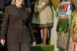 Clinton Condemns 'Culture of Violence' Against Women in Papua New Guinea