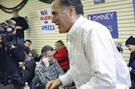 Romney Rivals Target Frontrunner Ahead of First US Primary