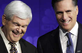 Polls Show Romney Leading Gingrich in Crucial Florida Primary Showdown