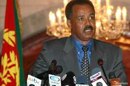 Eritrean President Isaias Afewerki (file photo)