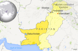 Khyber and Baluchistan regions, Pakistan