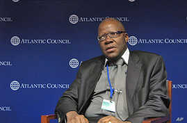 """Zimbabwe Finance Minister Tendai Biti called for what he called """"strategic engagement"""" from countries like the United States to help his country both economically and politically."""