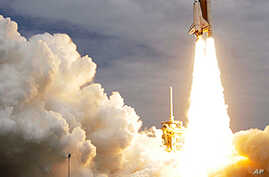 Space Shuttle Atlantis Lifts Off on Final Mission