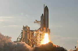 US Space Shuttle Discovery Launched on Final Flight