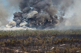 Worst Fires on Record Ravage Texas