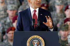 As Iraq War Ends, Obama Thanks Returning Troops