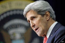 U.S. Secretary of State John Kerry, Dec. 2, 2013.
