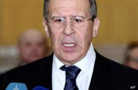 Russian FM Meets Syria's Assad as Violence Continues