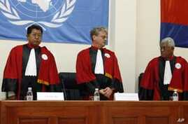 Rights Groups Demand Action to Safeguard Khmer Rouge Tribunal