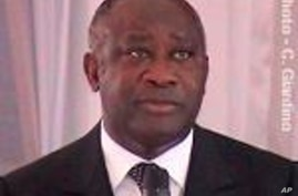 Ivorian President Laurent Gbagbo (file photo)