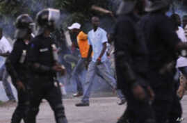 Supporters Of Ivory Coast Candidates Clash