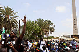 Rival Rallies in Senegal Over President's Right to Run Again