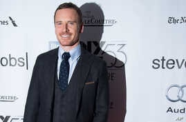 """Michael Fassbender attends the New York Film Festival gala presentation of """"Steve Jobs"""" at Alice Tully Hall on Oct. 3, 2015, in New York."""