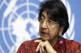 UN High Commissioner for Human Rights, Navi Pillay (file photo)