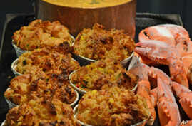 Lobster bread pudding probably wasn't served at the first