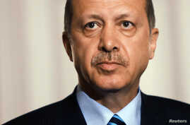 Turkish Prime Minister Recep Tayip Erdogan (Sept 2012 file photo)