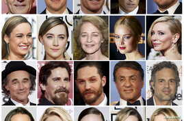 A combination picture shows this years Oscar nominees. In January, Director Spike Lee and actress Jada Pinkett Smith said on January 18, 2016 they will boycott next month's Academy Awards ceremony because black actors were shut out of nominations.