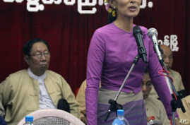 Burma's Opposition Party Re-Enters Politics