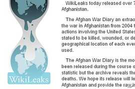 Afghan, Pakistani Reactions at Odds Over Leaked US Documents