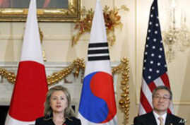 US, South Korea, Japan Want Conciliatory Steps from Pyongyang Before New Talks