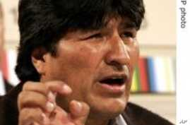 Bolivia Holds Presidential Election