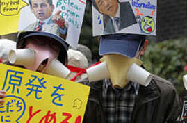 Thousands Protest Nuclear Power in Japan