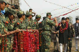 Nepal's Maoists Hand Over Control of Ex-Rebels