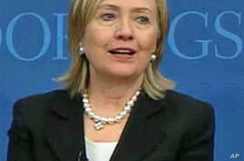 Clinton: US Will Apply Power Differently