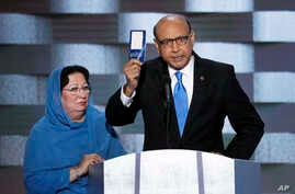 "Khan: ""Trump, have you even read the US constitution? You can borrow my copy!"""