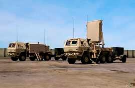The AN/TPQ-53 Counterfire Target Acquisition Radar (US Army file photo)