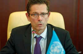 FILE - U.N. Assistant Secretary-General for Human Rights Ivan Šimonović.