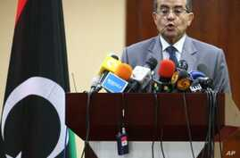 Libya's Interim Leader Says Opponents Abusing Chance for Peace