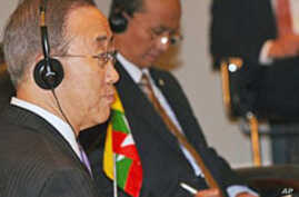 UN Chief: Not Too Late for Burma to Change