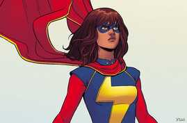 Ms. Marvel is a Pakistani-American Muslim with superpowers.