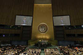 UN Assembly to Focus on Arab Spring, Palestinian Statehood