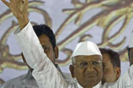 India Anti-Corruption Activist Hazare Calls Off Hunger Strike