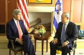 Kerry Discusses Syria Regional Fallout in Israel