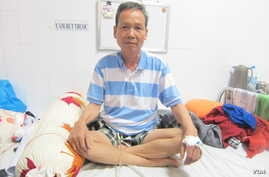 Vietnamese environmental activist Dinh Dang Dinh is on medical parole while suffering from final stages of stomach cancer.