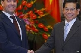 Russian President Signs Nuclear Plant Deal With Vietnam