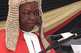 Zimbabwean Chief Justice Godfrey Chidyausiku (File Photo)