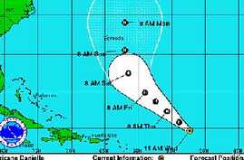 Tropical Storm Frank Becomes a Hurricane in Pacific