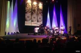 The Blue Notes Tribute Orkestra played to a packed house at the Cape Town International Jazz Festival (Photo by Unathi Kondile)