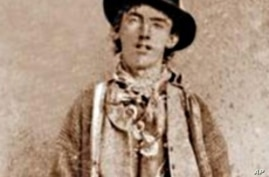 The American outlaw known as Billy the Kid