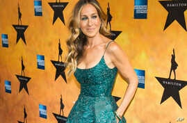 "FILE - Sarah Jessica Parker attends the Broadway opening night of ""Hamilton"" in New York."